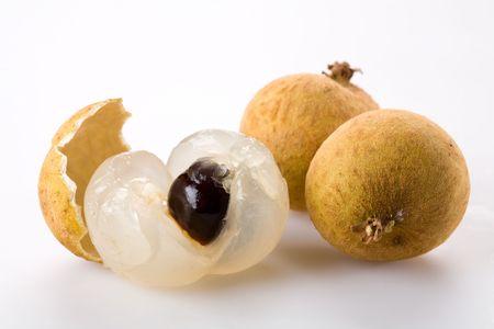 longan: longan - exotic fruit Stock Photo
