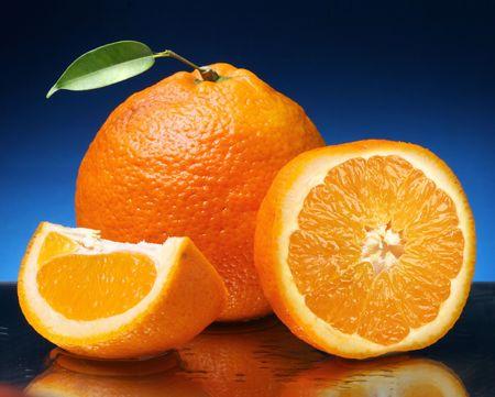 heartiness:  orange Stock Photo