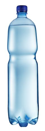 carbonation: Plastic bottle of water