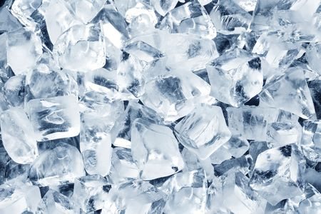Background in the form of ice cubes photo