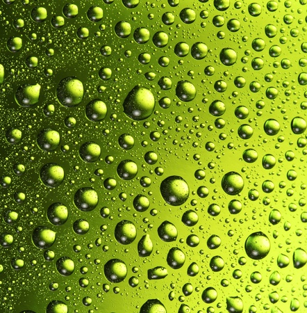 Texture water drops on the bottle of beer. Stock Photo - 8296216