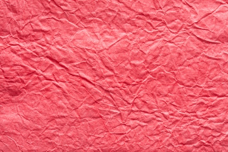 sackcloth: Image texture of crumpled ped paper. Stock Photo