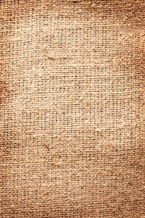 Textura de imagen de arpillera. Foto de archivo