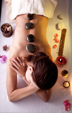 Young woman getting spa procedures. Stock Photo - 9074259