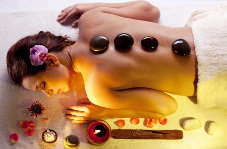 mimos: Joven obtener procedimientos de spa.