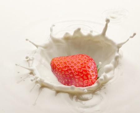 causaba: Bienvenida de leche, causada por ca�das en una fresa madura.