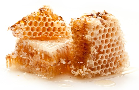 Close up view of honeycombs. Stock Photo - 9976383