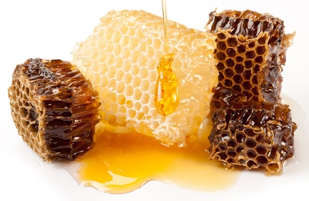 Close up view of honeycombs. Stock Photo - 9976394
