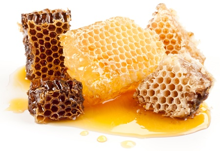 Close up view of honeycombs. Stock Photo - 9976381