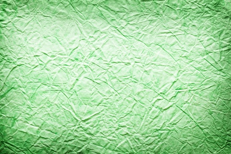 taupe: Texture image crumpled green paper.