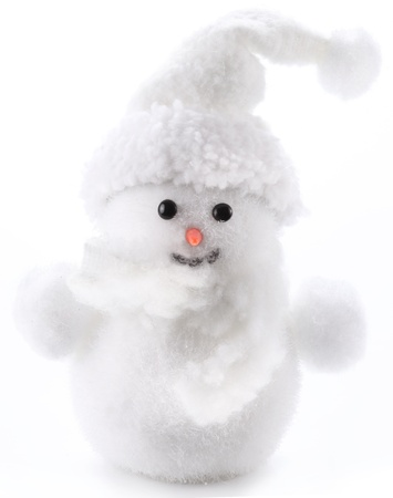 hristmas: �hristmas snowman isolated on a white background