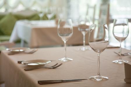 celebratory: Abstract image of a celebratory table