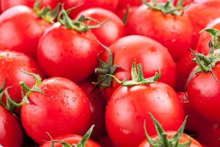 moltitudine: Moltitudine di pomodori maturi