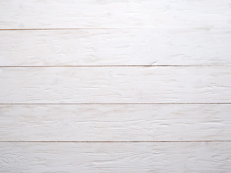 timbered: Old white wooden background.