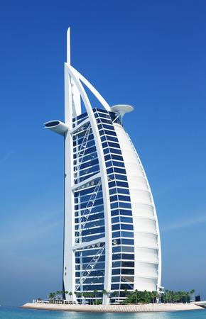 al: Burj Al Arab Hotel, Dubai.