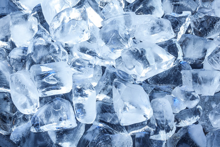 Background with ice cubes.