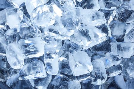 cubos de hielo: Fondo con los cubos de hielo.
