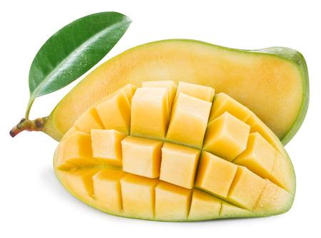 mango fruta: Fruta del mango maduro. Foto de archivo
