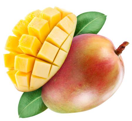 mango: Ripe mango fruit.