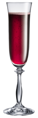 objects with clipping paths: Wine glass isolated on a white background.