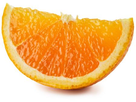 segmento: Segmento de frutas de color naranja.