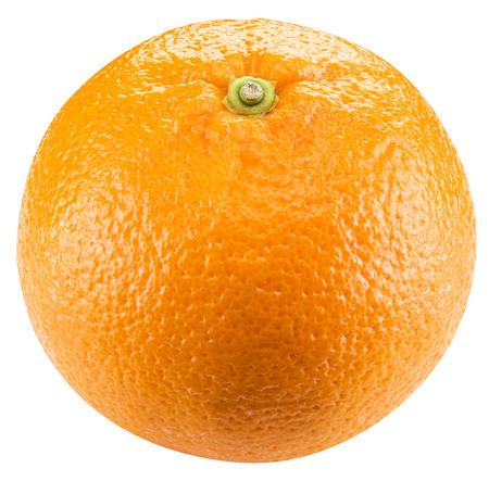 frutas tropicales: De frutas de naranja sobre el fondo blanco Foto de archivo