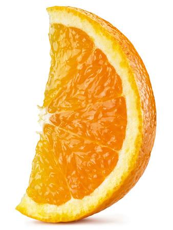 segmento: Segmento de fruit.File naranja contiene trazados de recorte. Foto de archivo