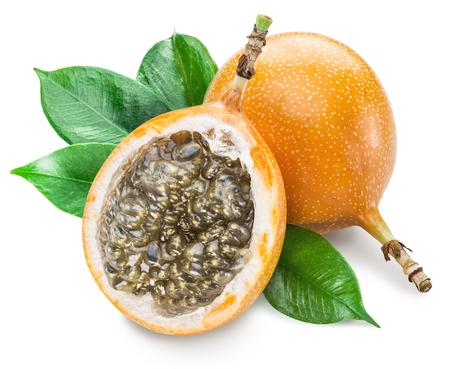 sweet pulp: Granadilla fruits.