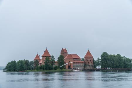 Trakai Island Castle. Lithuania. 2016.06.10 Editorial