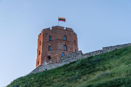 Gediminas Tower. Vilnius, Lithuania. 2016.06.11