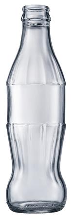 Empty cola bottle. Archivio Fotografico