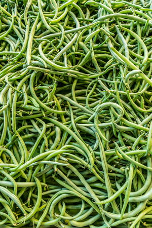 Common beans close-up. Food background. Standard-Bild