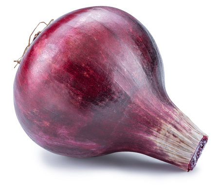 Red onion bulb.