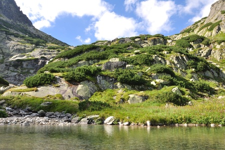 Waterfall Skok - Tatra Mountains in Slovakia Stock Photo - 13438841