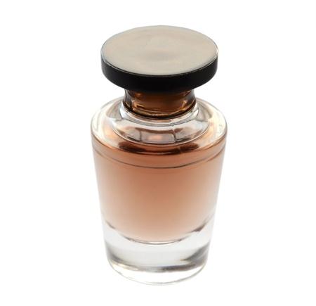 Perfume bottle isolated on white Stock Photo - 17090950