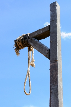 capital punishment: Gallows, reconstruction of the XVIII century