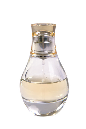 parfume: Parfume bottle isolated on white Stock Photo