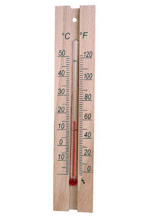termometer: Thermometer isolated on white background Stock Photo