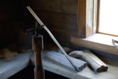 sliver: Long thin sliver of dry wood, designed to illuminate the hut