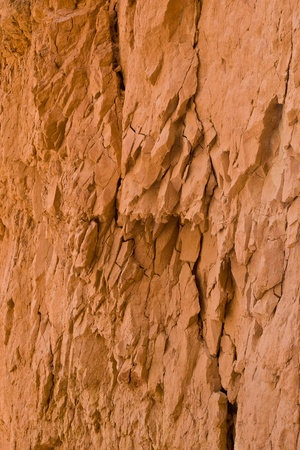 Close-up of sandstone in Bryce Canyon National Park. Utah, USA photo