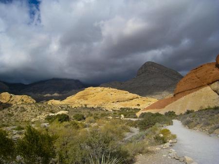 カラフルな岩レッド ロック キャニオン州立公園、ネバダ州、米国