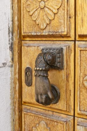door knob: Door knob in Venice, Italy