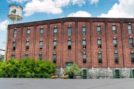 distillers: FRANKFORT, KENTUCKY, USA - JULY 20, 2013  Buffalo Trace Distillery in Frankfort, KY  Buffalo Trace is a brand of Kentucky straight bourbon whiskey, one of seven distilleries along Kentucky Bourbon Trail