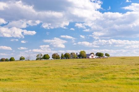 Countryside with beautiful sky  photo