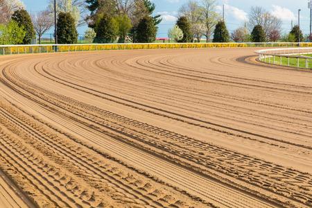 racetrack: Horse racetrack.