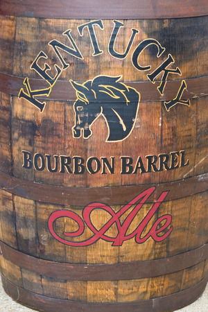 LEXINGTON, KY - July 04, 2008: Famous Kentucky Bourbon Barrel Ale by Alltech Brewing and Distilling Company based in Lexington, Kentucky, USA  founded in 1999 by Pearse Lyons. Editorial