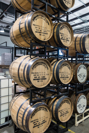 LEXINGTON, KY - September 14, 2014: Visitor center of  Alltech Lexington Brewing and Distilling Company based in Lexington, Kentucky, USA  founded in 1999 by Pearse Lyons, the president and founder of animal nutrition company Alltech.