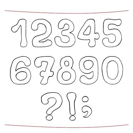 ques: Hand drawn sketch alphabet.