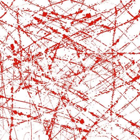 Grunge lined background in red and white. Vector illustration for presentation, booklet, flyer, card, website etc..