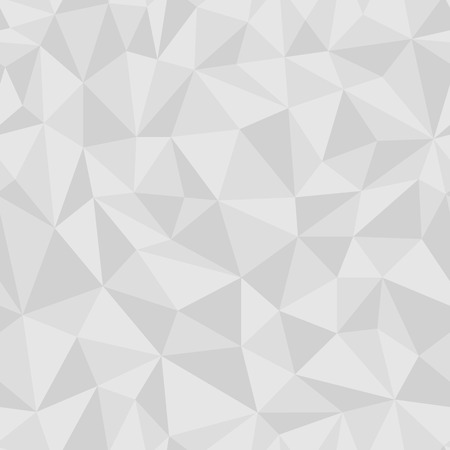 jammed: Geometric seamless pattern from triangles. Gray vector illustration.